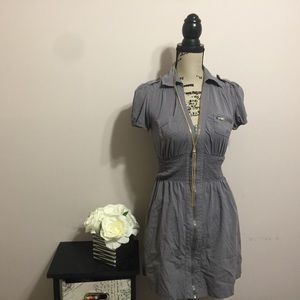 Guess cargo mini zippered dress